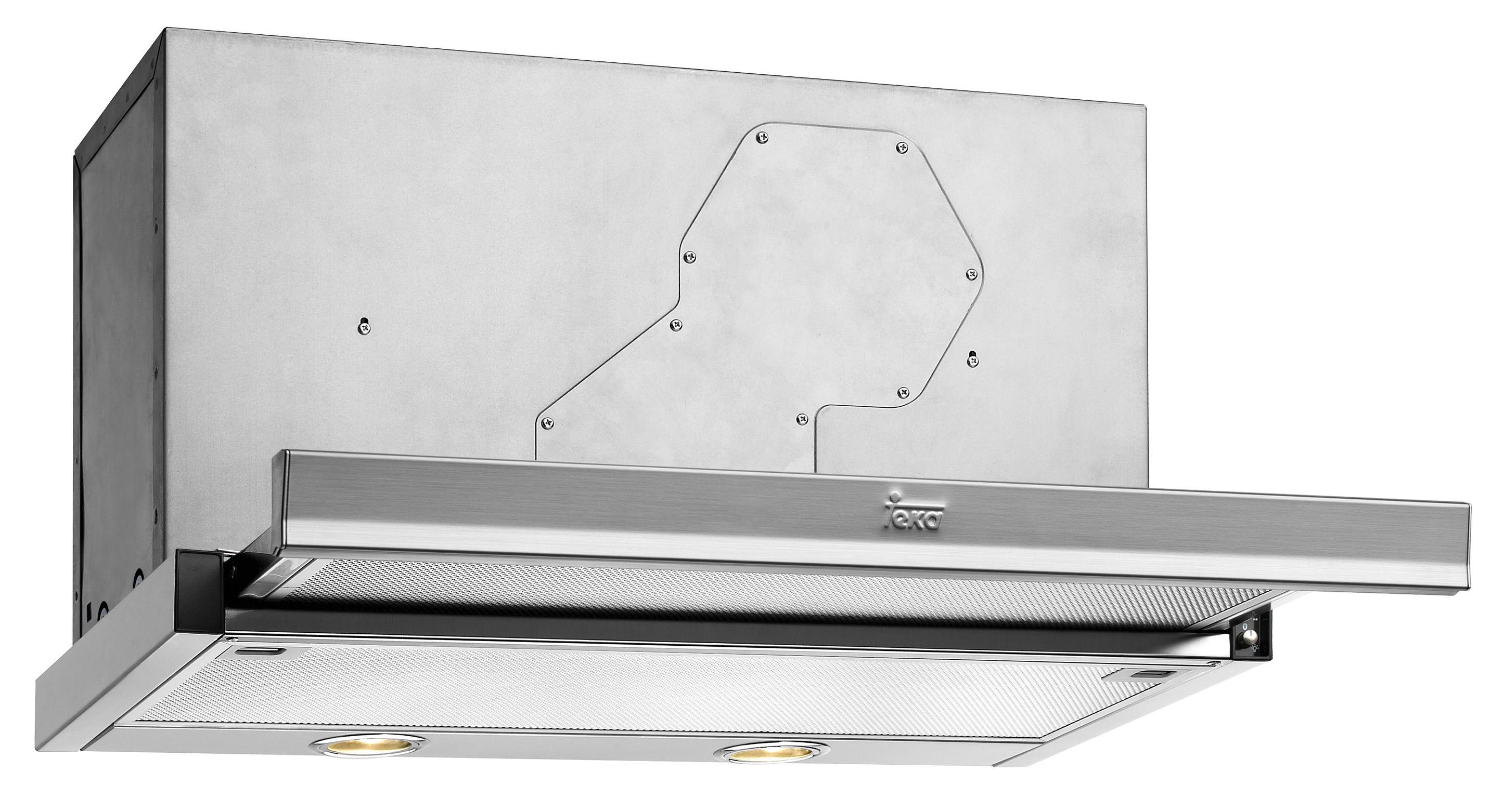 Телескопичен абсорбатор за вграждане ТЕКА-CNL1 3000 инокс
