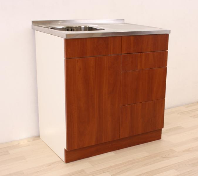 СКШ с мивка-с четири работещи чекмеджета