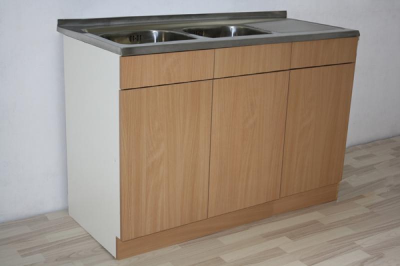 СКШ с двукоритна мивка-А122