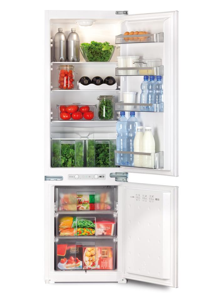 Хладилник с фризер за вграждане RBEK 2818 V