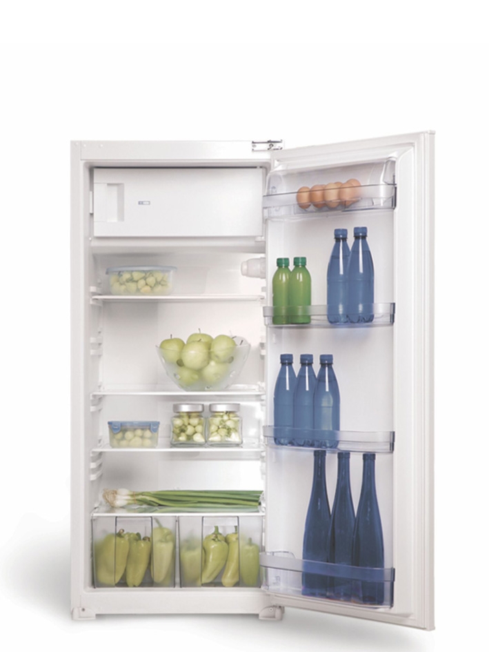 Хладилник с фризерна камера за вграждане HVL 24 V