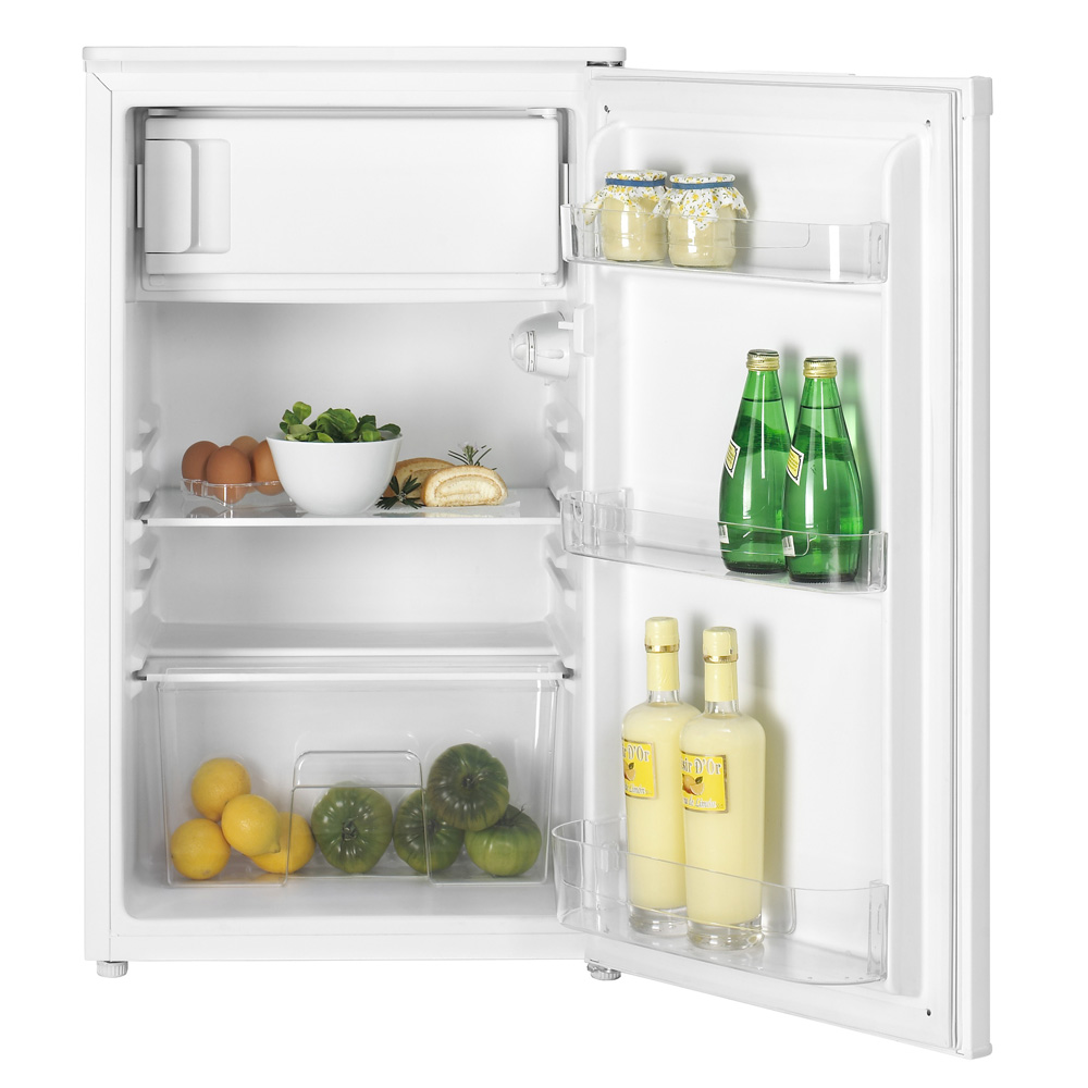 Свободностоящ комбиниран хладилник (възможно поставяне под плот) TS 138