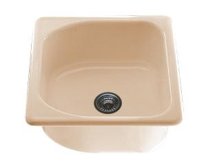 Единична мивка 2108- граниксит - 51 х 51 см.
