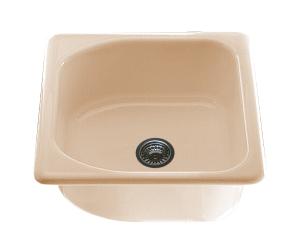 Единична мивка 2110- полимермрамор - 51 х 60 см.