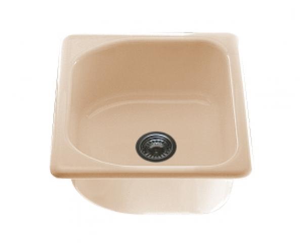 Единична мивка 2117- граниксит - 43 х 46 см.