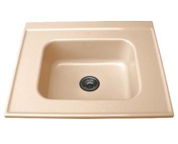 Свободностояща мивка за модул единична 2119- граниксит-80х60 см.