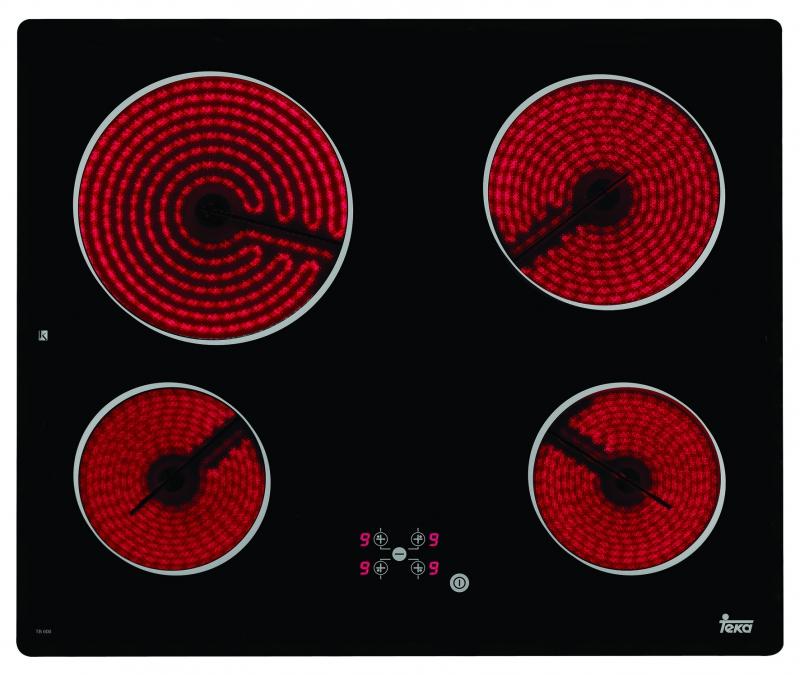 Стъклокерамичен плот ТЕКА-ТВ 600