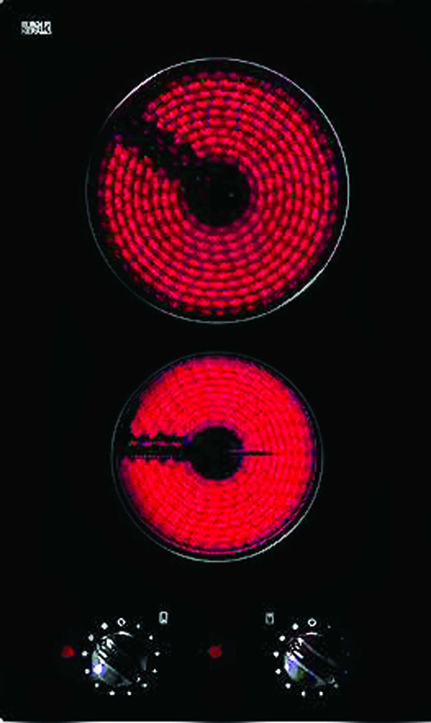 Стъклокерамичен плот ТЕКА-HLF 30 2H