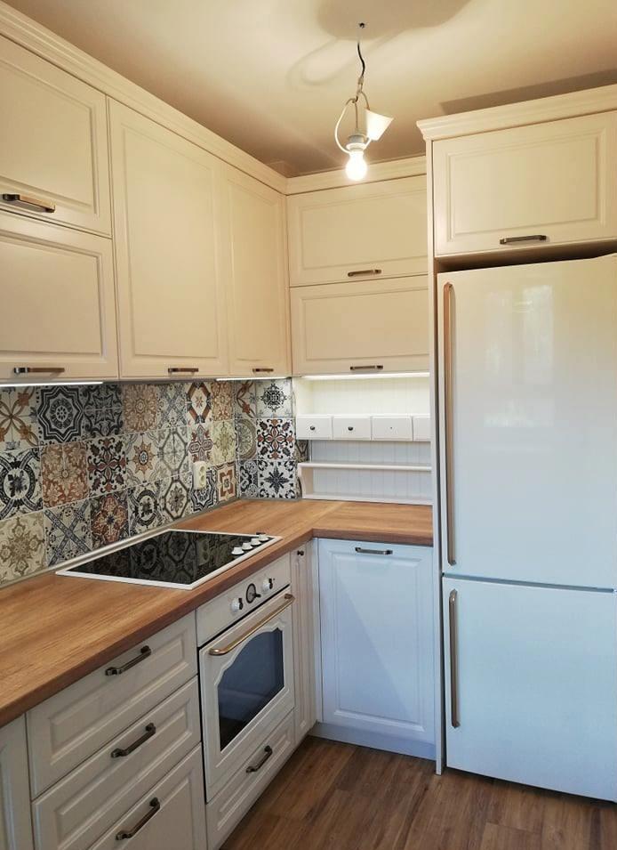 бяла кухня по проект