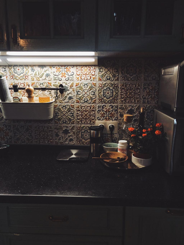 цветни плочки за гърба на кухнята