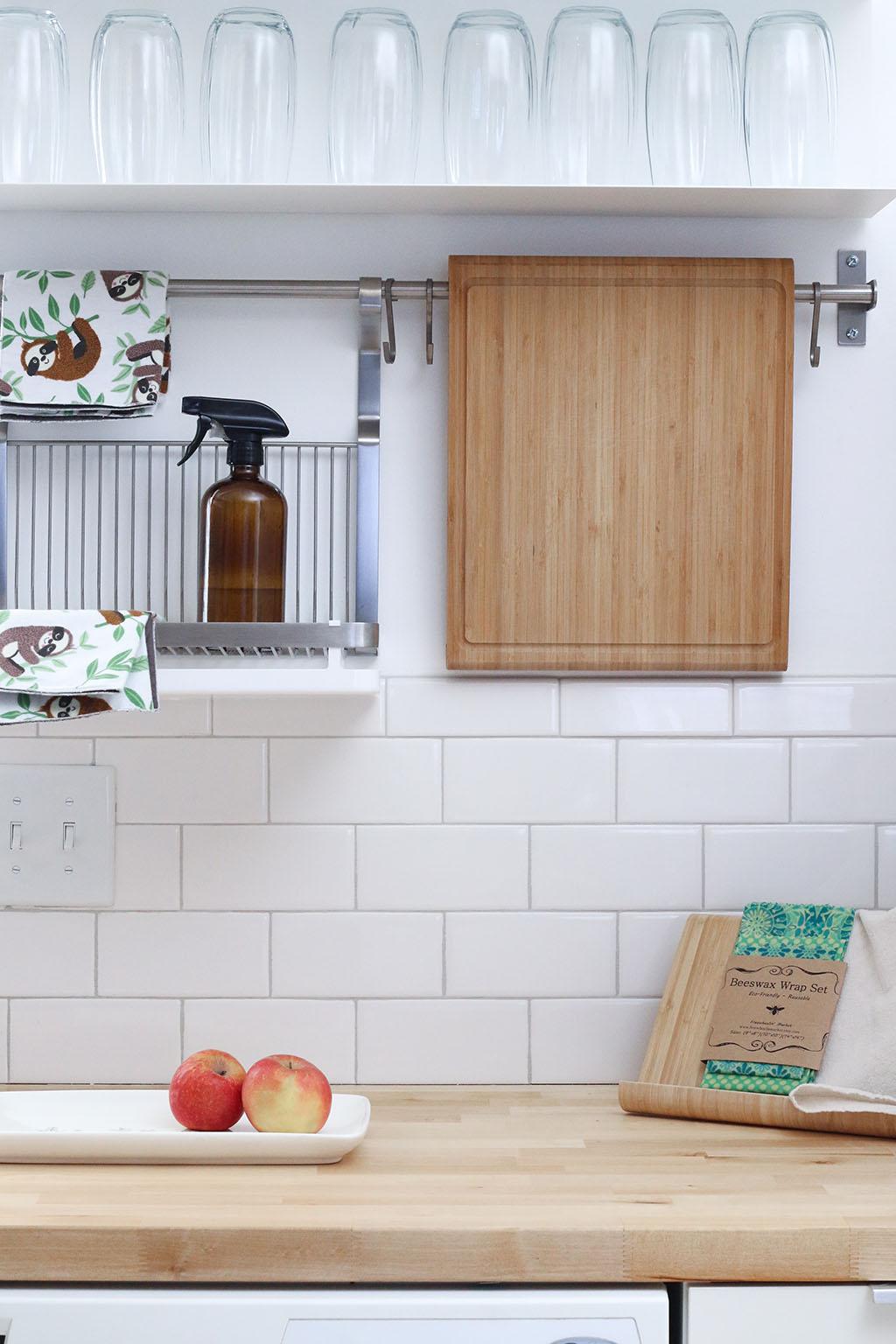 аксесоари на гърба на кухнята
