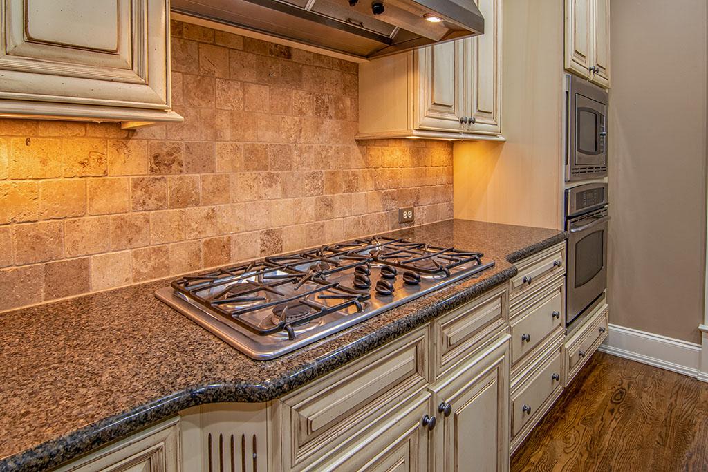 камъни по гърба на кухнята