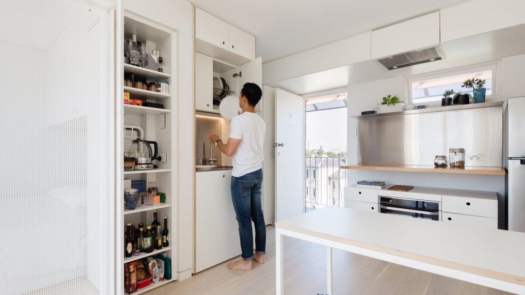 Използването на японската техника за организиране в микро апартамент