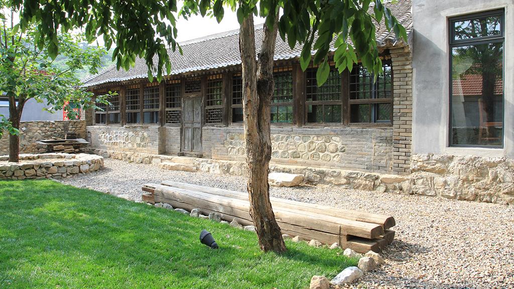 Обновена вила в Китай с оригинални рустикални характеристики