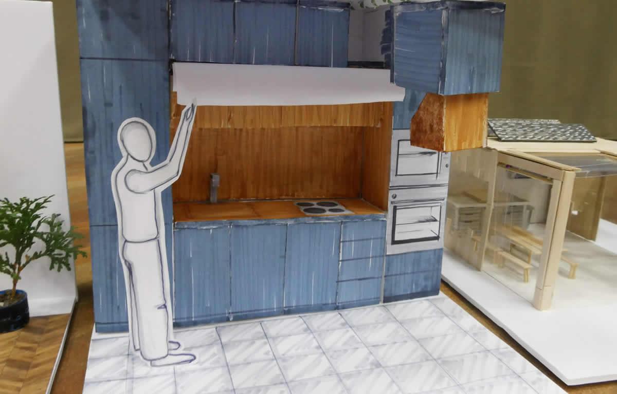 Малката кухня, в която има място за всичко