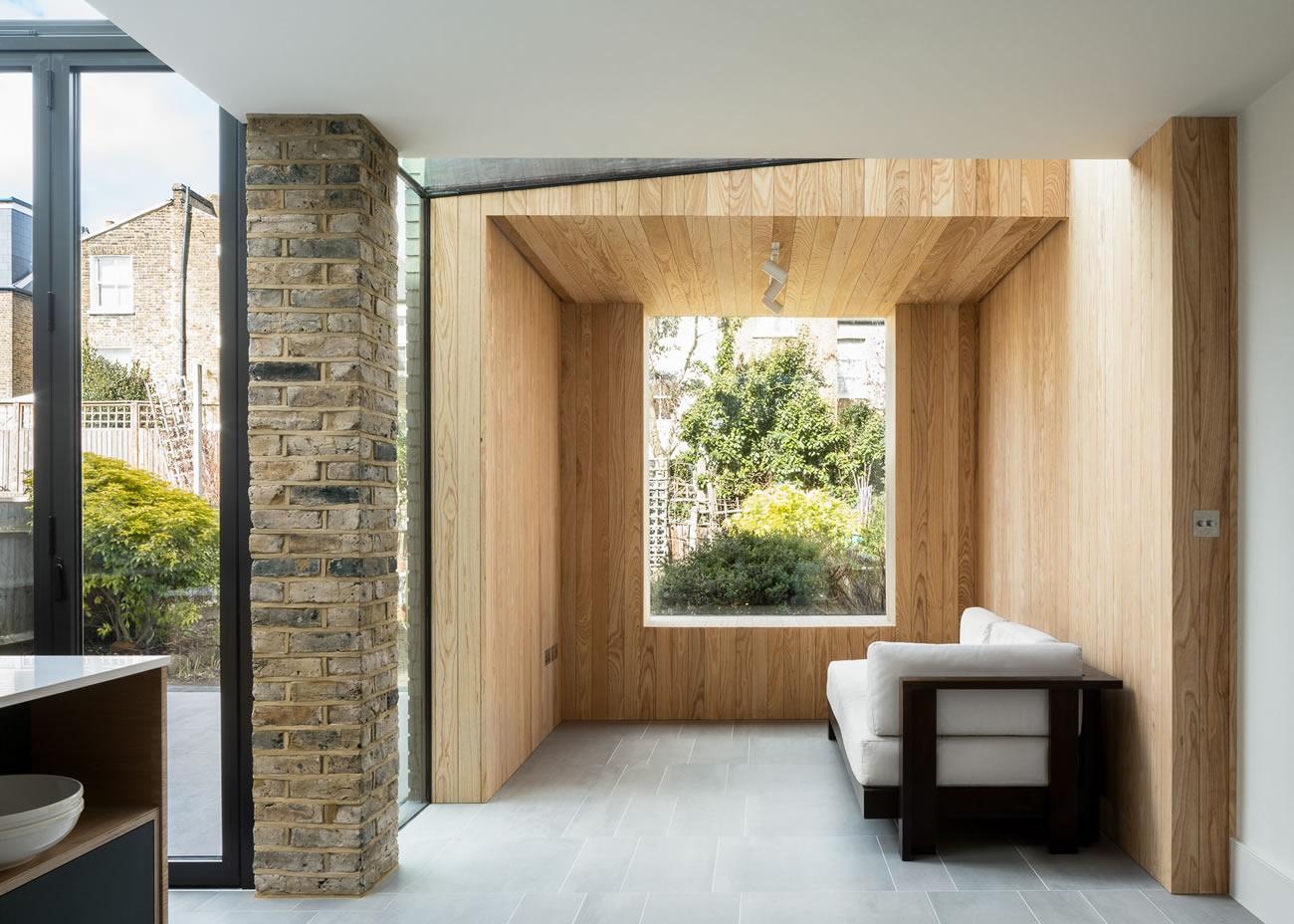 Proctor & Shaw създават уютен кът с изглед към градината
