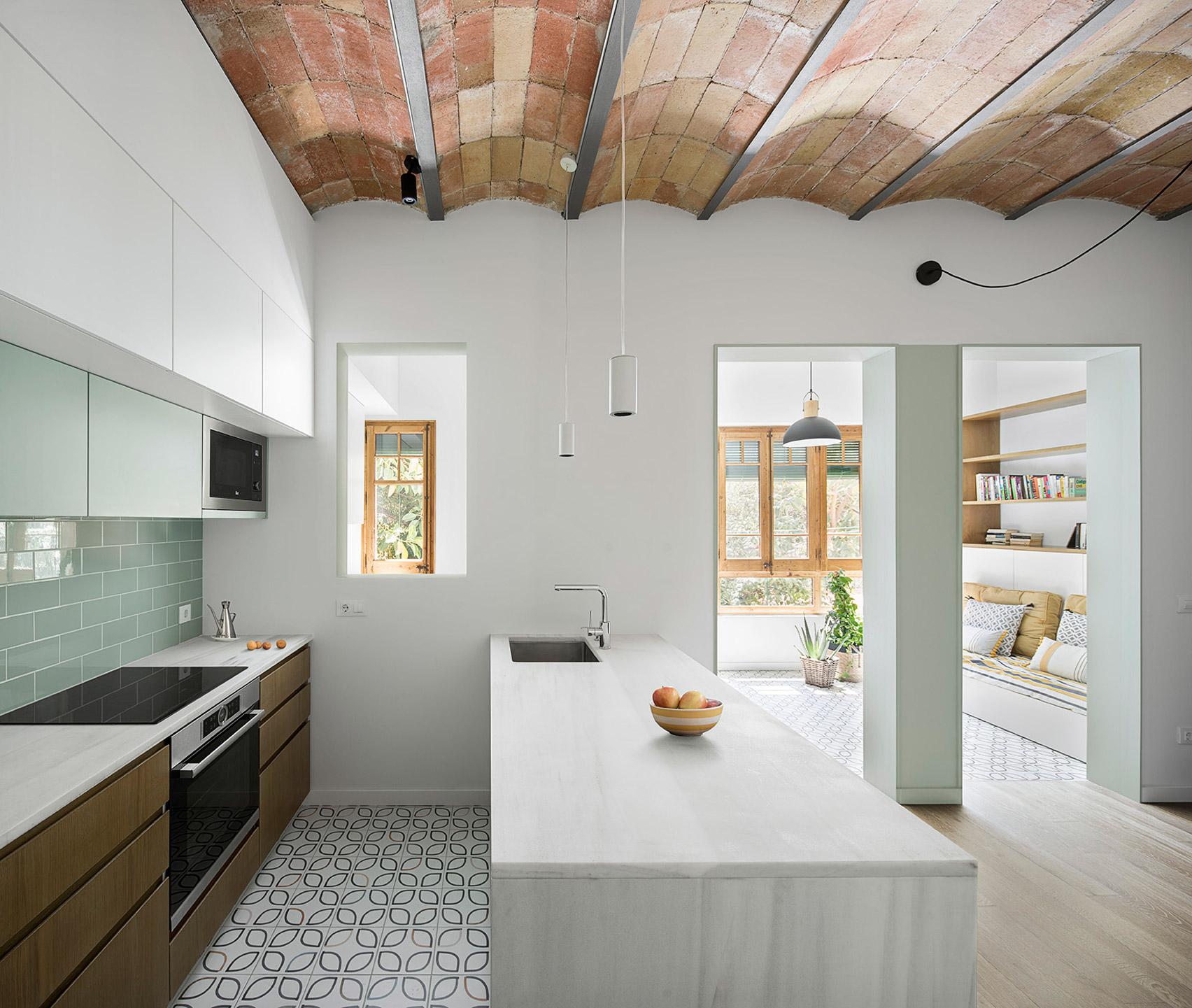 Цялостна промяна на оформлението за апартамент в Барселона