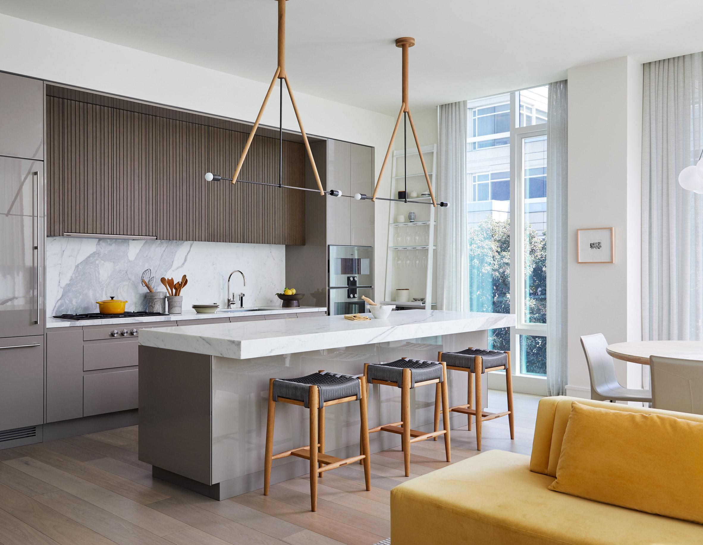 Баланс между елегантност и изисканост за апартамент в Сан Франциско