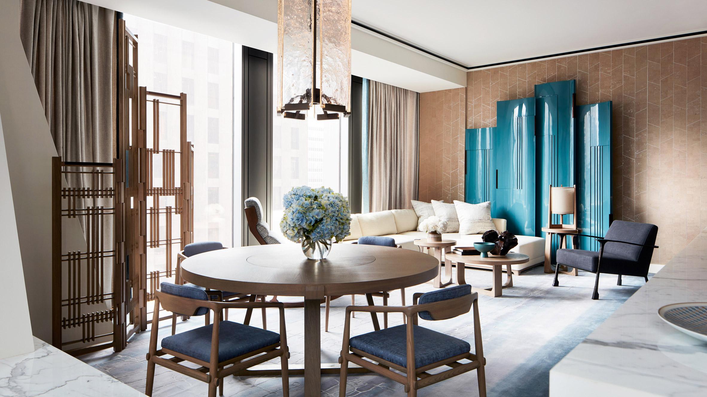 Андре Фу създава мострен апартамент в кулата на Нувел в Ню Йорк
