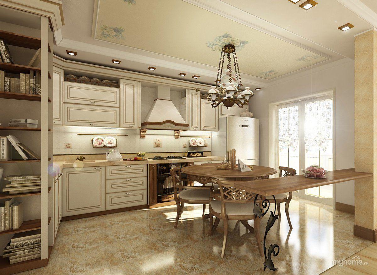 Провансалски стил в дизайна на кухни