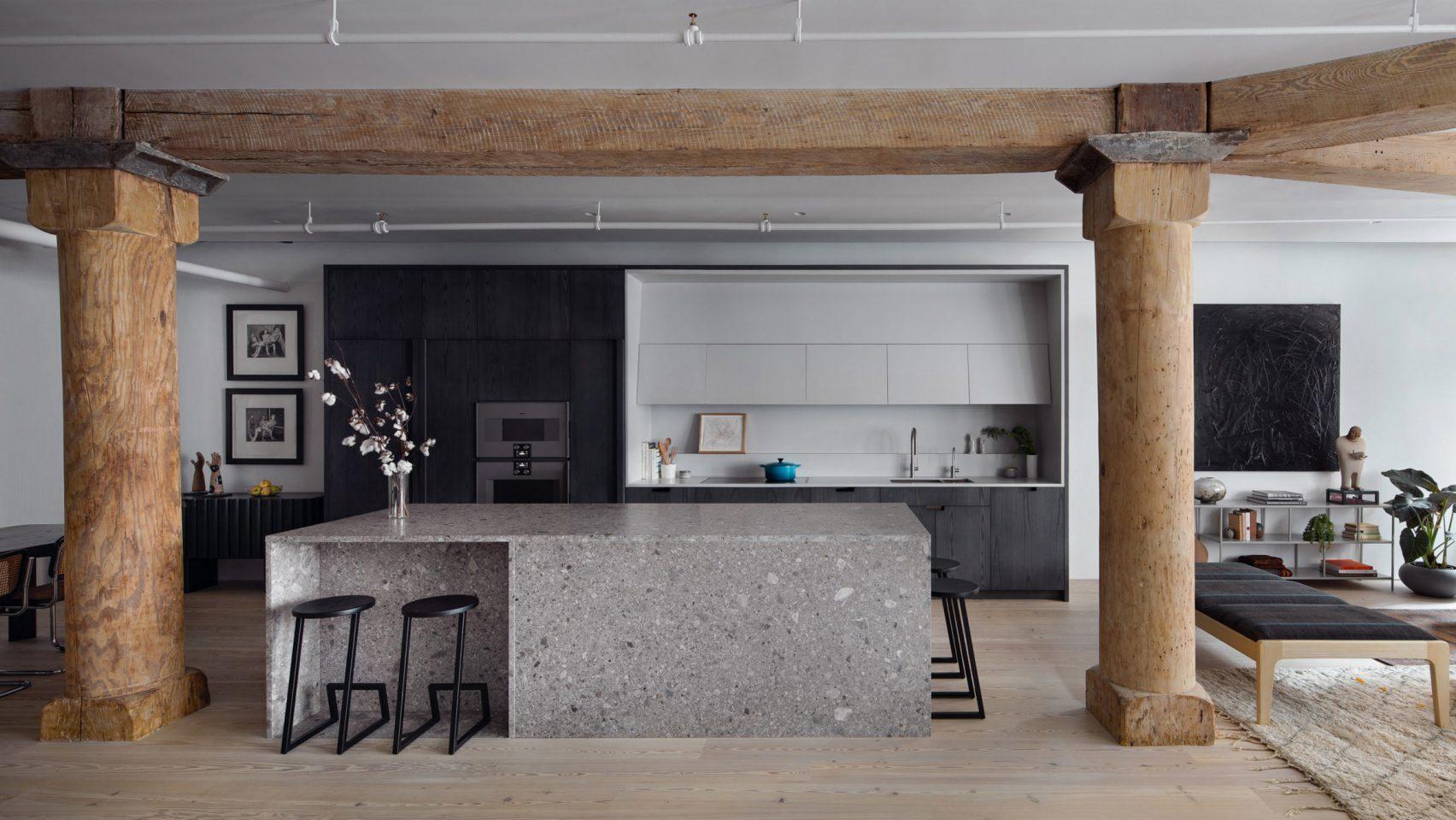 Кухненски остров - фокусна точка при ремонта на апартамент