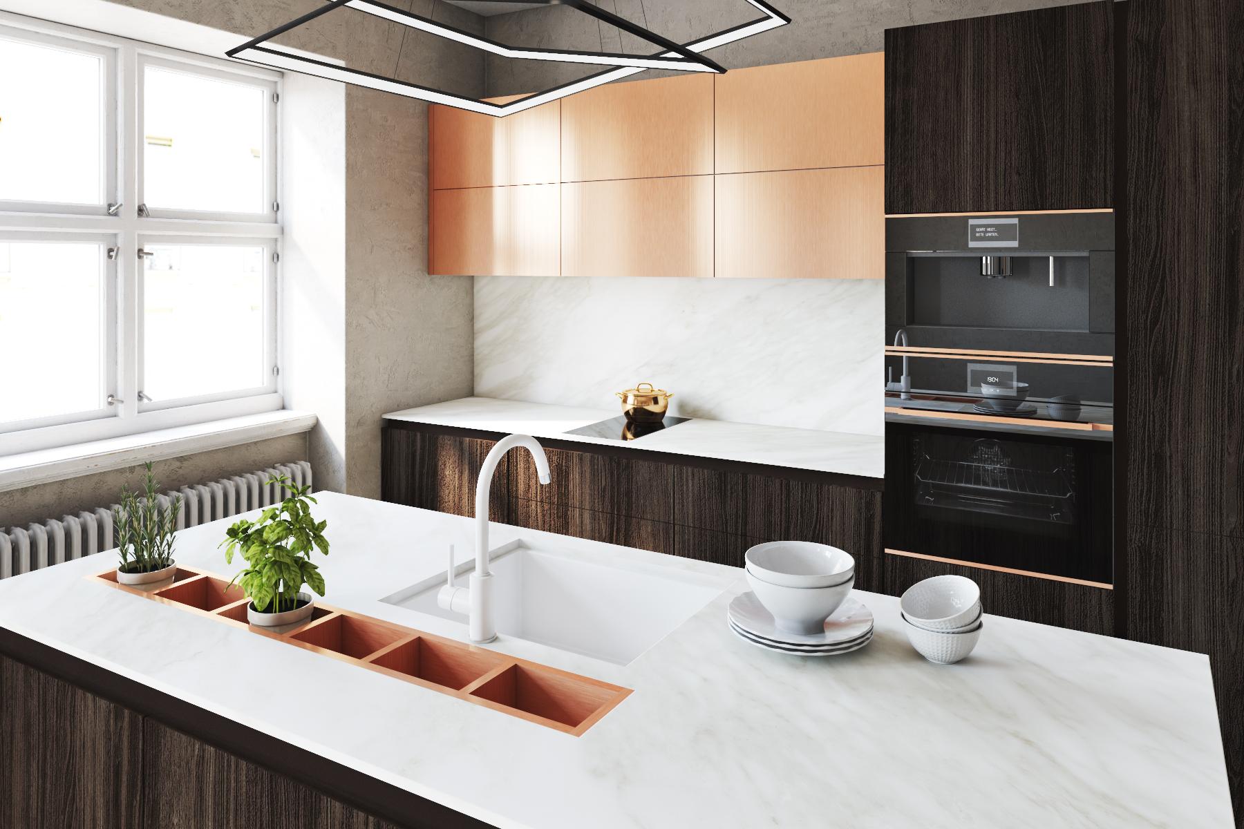 Идеи за гръб за кухня – материалите и дизайните, които ще заобичате
