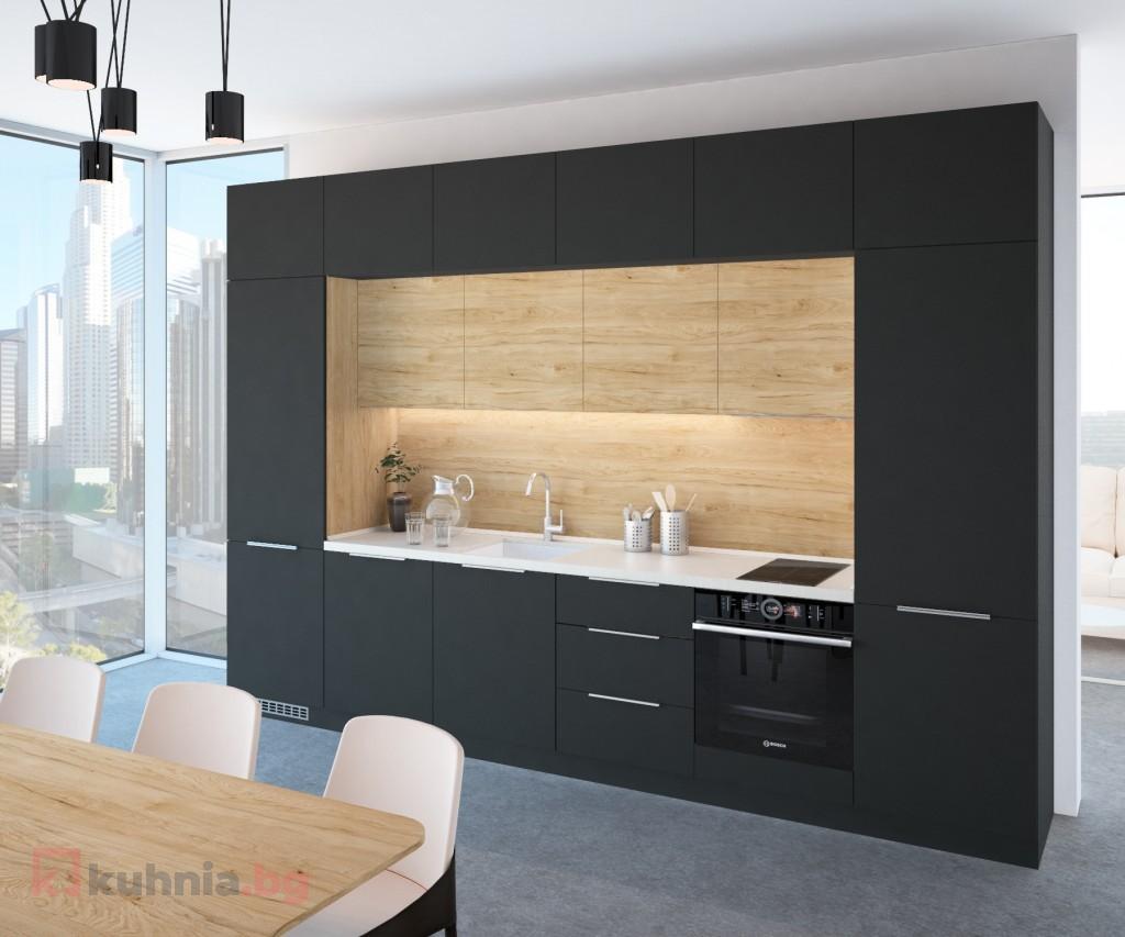 Права кухня – идеален вариант за всякакъв тип помещения