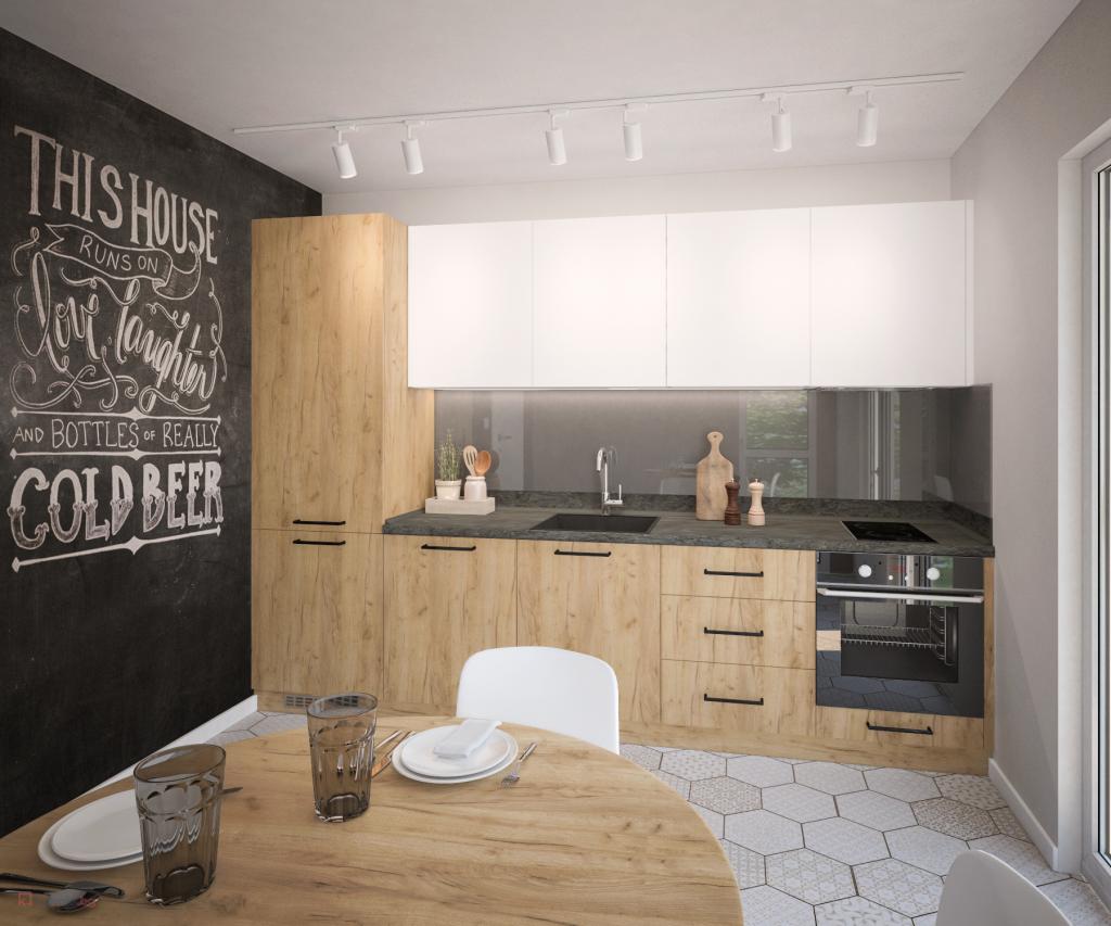 25 идеи в дизайна на малката кухня