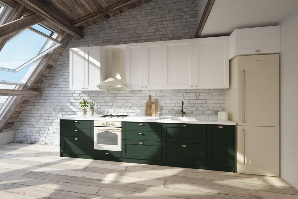 Избираме цветни кухненски шкафове за постигане на свежест в интериора