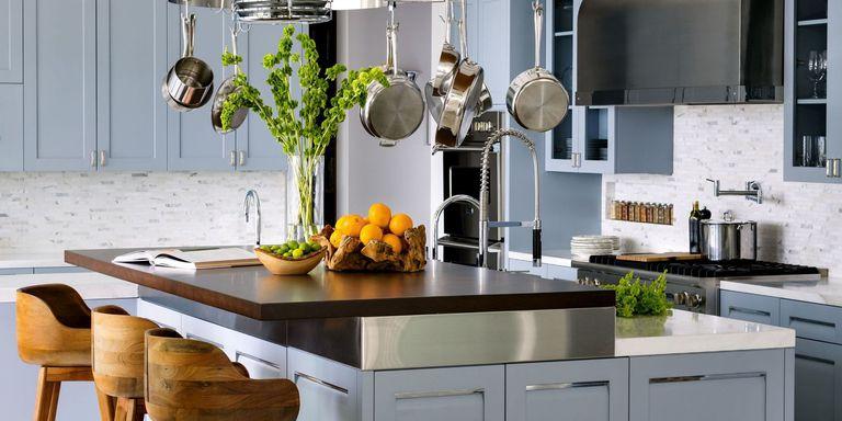 Любимите цветове за боядисване на кухнята на интериорните дизайнери
