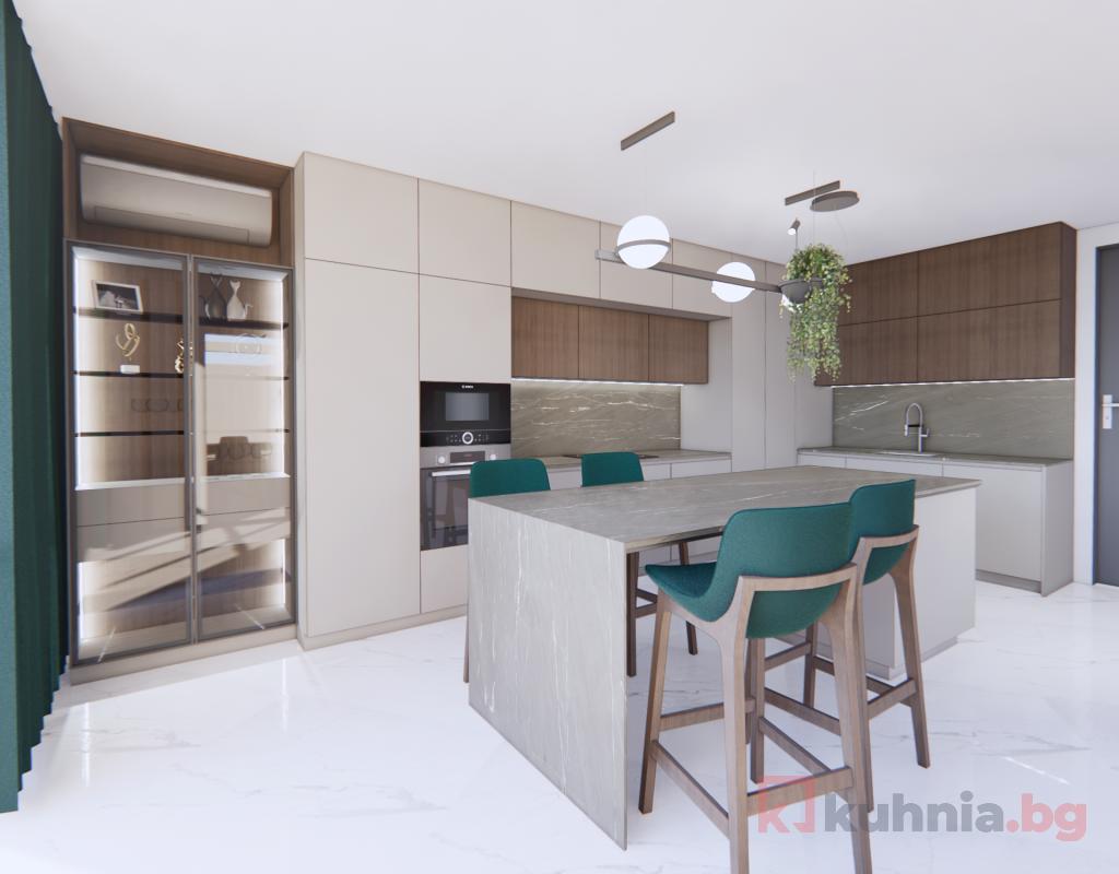 Витрините в кухнята – блясък и изящество, подходящи за всеки дизайн