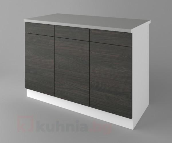 Долен кухненски шкаф с три чекмеджета и три врати  Вега