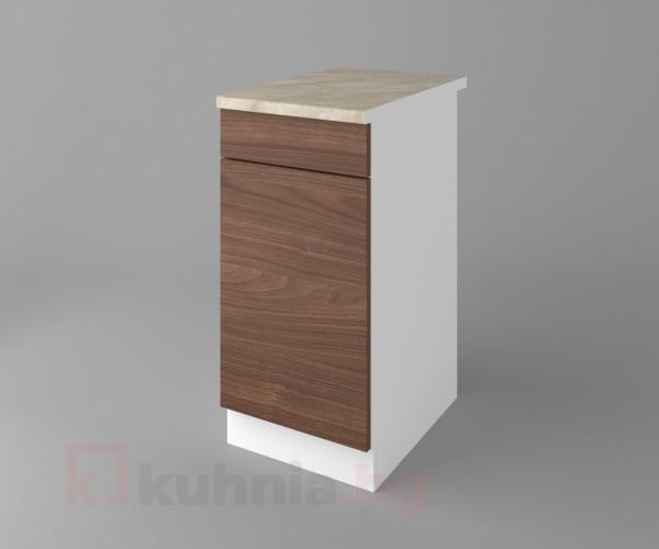 Долен кухненски шкаф с чекмедже и една врата Атлас