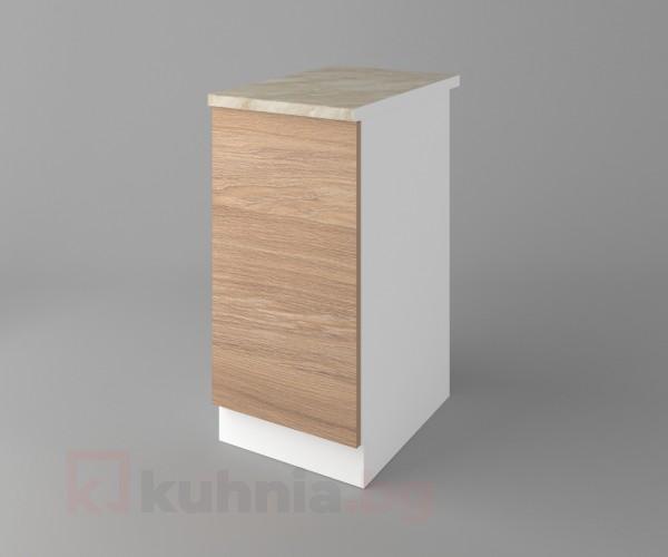 Долен кухненски шкаф с една врата Поларис