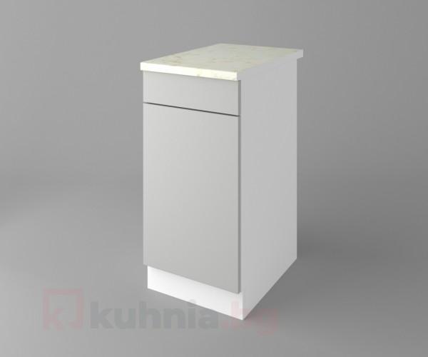 Долен кухненски шкаф с една врата и чекмедже Мирта