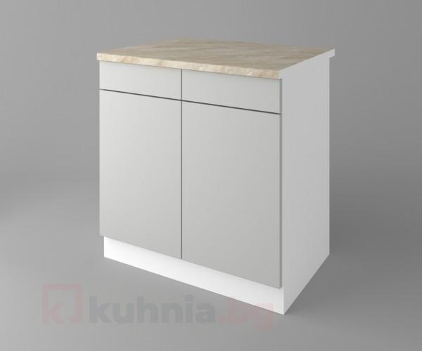 Долен кухненски шкаф с две чекмеджета и две врати Мирта