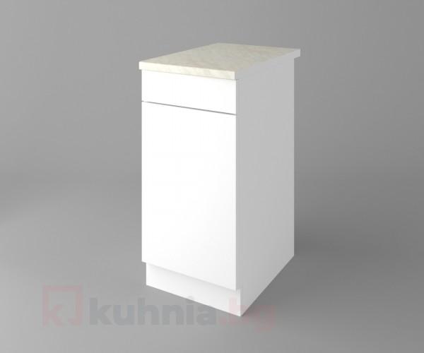 Долен кухненски шкаф с чекмедже и една врата Нарцис