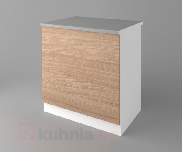 Долен кухненски шкаф с две врати Поларис