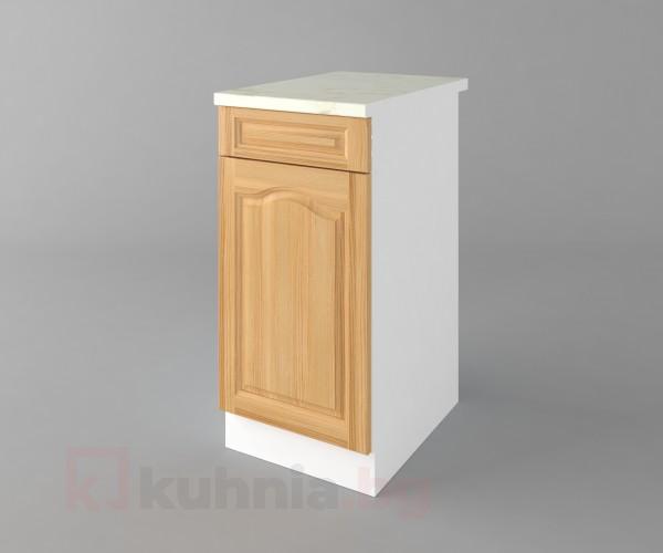 Долен кухненски шкаф с чекмедже и една врата Астра