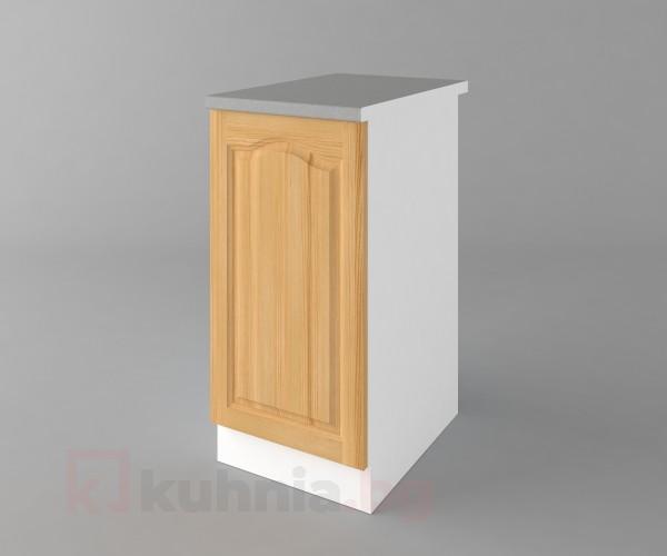 Долен кухненски шкаф с една врата Астра - Натурална