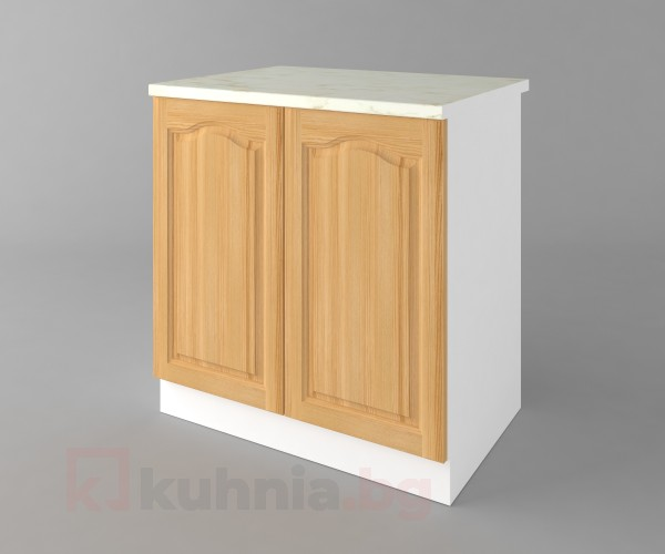 Долен кухненски шкаф с две врати Астра - Натурална