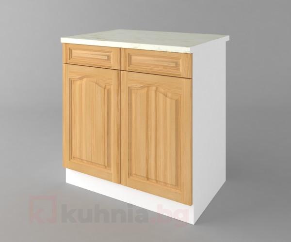 Долен кухненски шкаф с две чекмеджета и две врати Астра