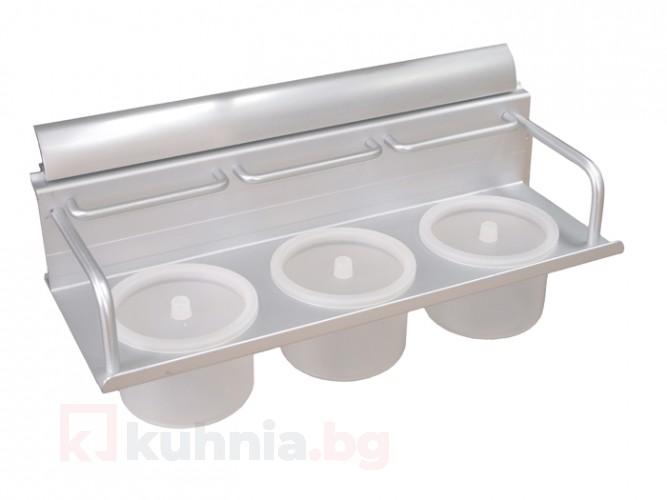 Алуминиева кухненска поставка за подправки KA-1007