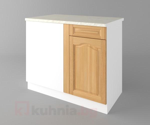 Долен кухненски шкаф за ъгъл Астра - Натурална