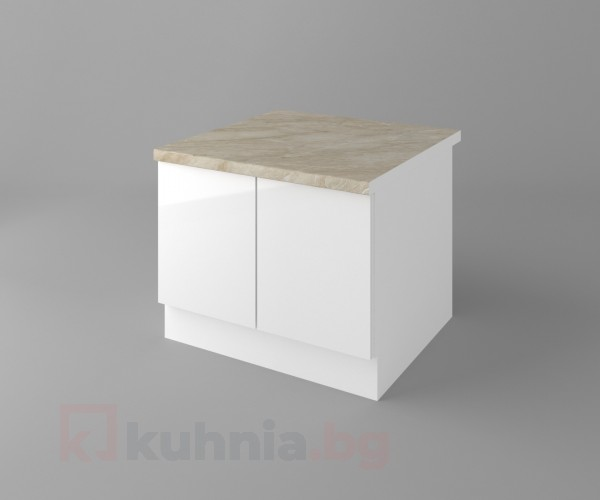 Долен кухненски шкаф за раховец с термоплот Нарцис - Гланц