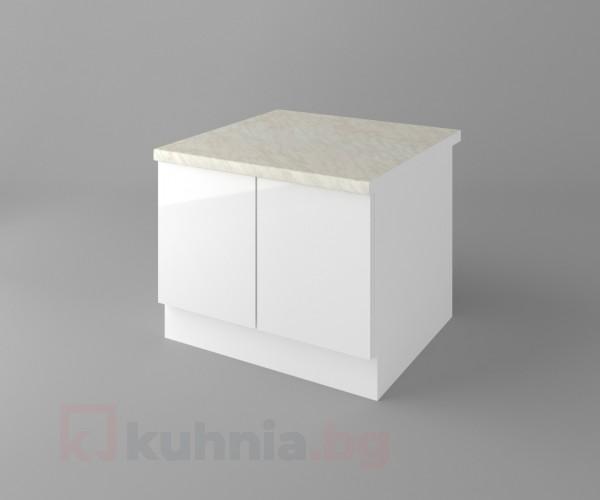 Долен кухненски шкаф за раховец с термоплот Нарцис гланц