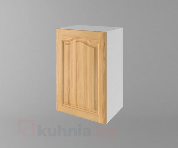 Горен кухненски шкаф с една врата  Астра - Натурална