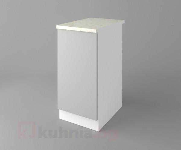 Долен кухненски шкаф с една врата Мирта