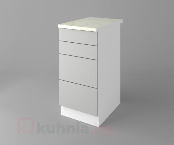 Долен кухненски шкаф с четири чекмеджета Мирта
