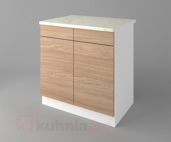 Долен кухненски шкаф с две чекмеджета и две врати Поларис